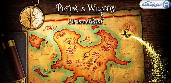 دانلود بازی پیتر و وندی در نورلند Peter & Wendy in Neverland v1.0.8 اندروید – همراه دیتا