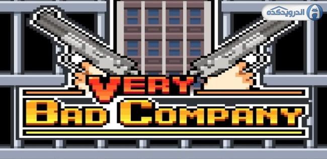 دانلود بازی کمپانی بسیار بد Very Bad Company v1.3 اندروید – همراه نسخه مود + تریلر