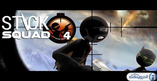 دانلود بازی تک تیرانداز Stick Squad 4 – Sniper's Eye v1.0.6 اندروید + مود + تریلر