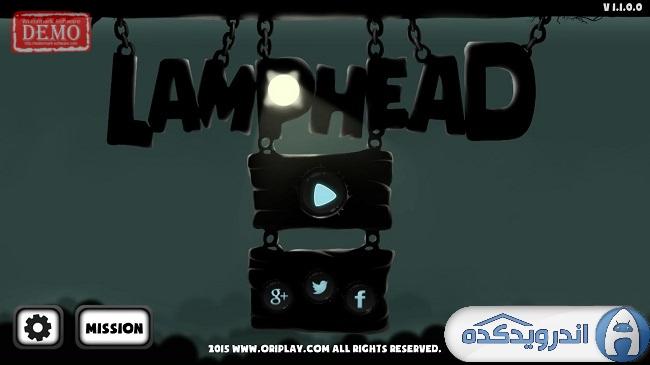 دانلود بازی کله لامپی: خروج از تاریکی Lamphead – Outrun the darkness V1.1 اندروید – همراه تریلر