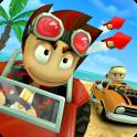دانلود بازی مسابقات باگی ساحلی Beach Buggy Racing v1.2.12 اندروید بدون دیتا + مود