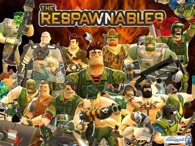 دانلود Respawnables 5.2.1 بازی اکشن و هیجان انگیز اندروید + دیتا + مود