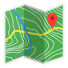 دانلود برنامه مسیریابی و ناوبری BackCountry Navigator TOPO GPS Pro v6.1.2 اندروید – همراه تریلر