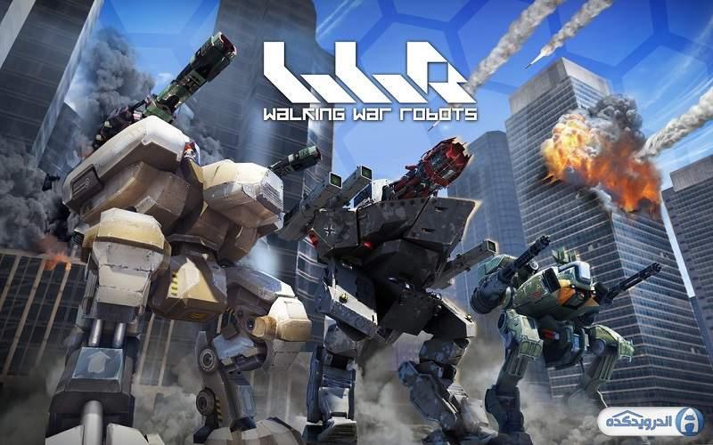 دانلود War Robots v2.9.0 بازی ربات های جنگی غول پیکر اندروید – همراه دیتا + مود