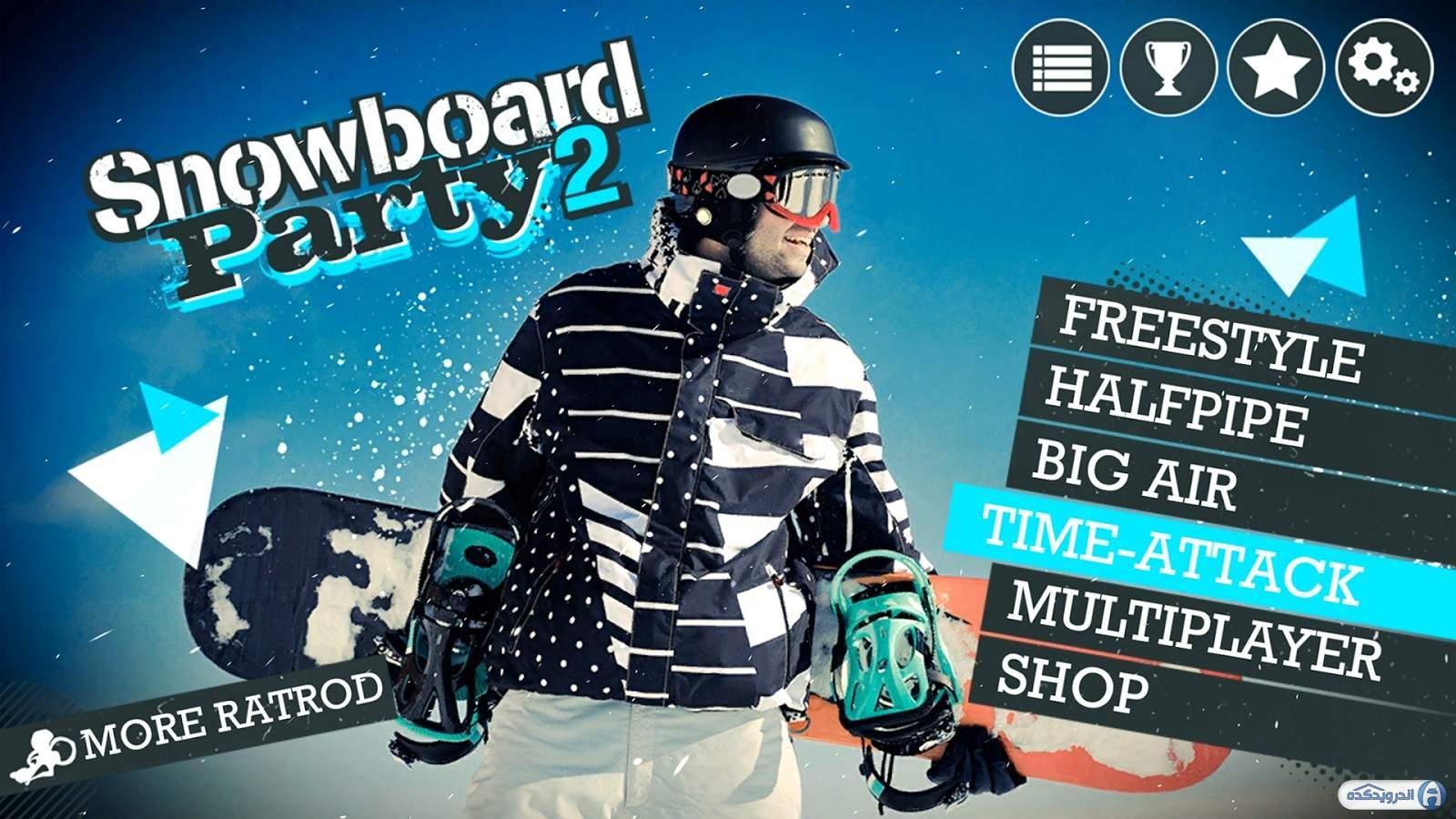 بازی Snowboard Party 2 اندروید