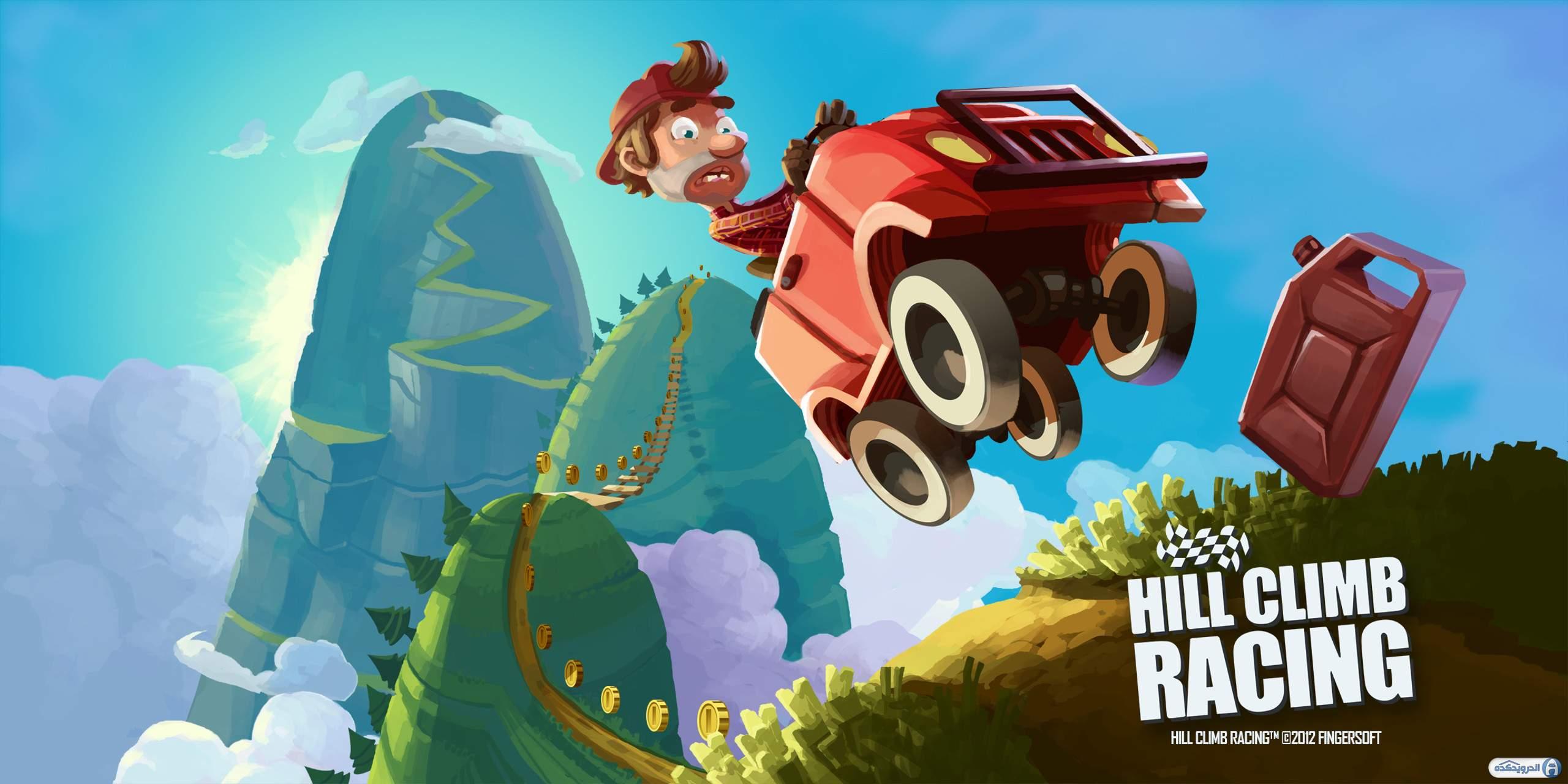 بازی Hill Climb Racing اندروید