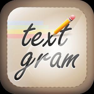 دانلود نرم افزار اندروید ساختن نوشته های زیبا با Textgram Pro v3.1.5 اندروید