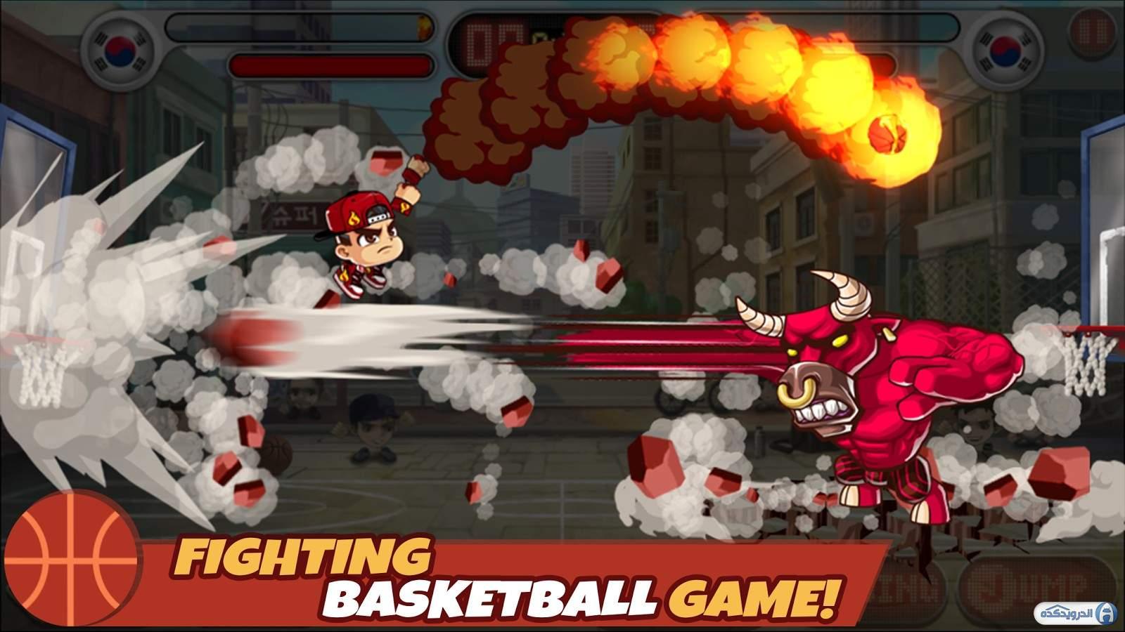 دانلود Head Basketball v1.3.3 بازی بسکتبال با سر برای اندروید – همراه دیتا + مود