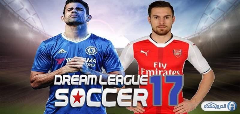 دانلود Dream League Soccer بازی لیگ رویایی فوتبال اندروید + دیتا + مود