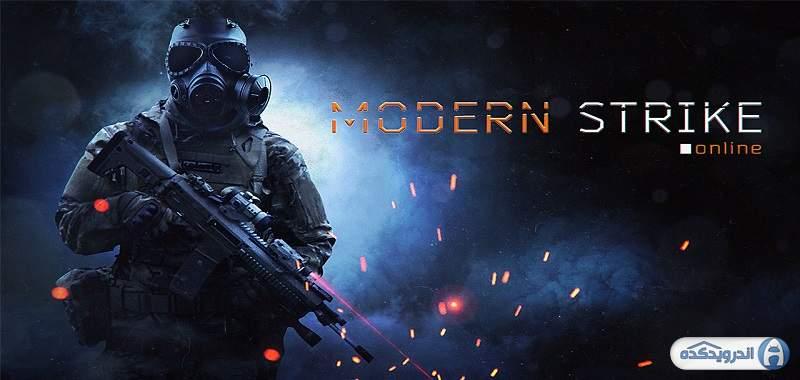 دانلود Modern Strike Online بازی ضربت مدرن اندروید + دیتا + مود