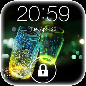 دانلود Fireflies lockscreen برنامه قفل کرم شب تاب اندروید