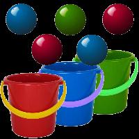 دانلود Bucket Ball v1.76 بازی توپ و سطل اندروید