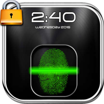 دانلود Fingerprint Lock Screen Prank v7.0نرم افزار قفل صفحه نمایش با اثر انگشت- شوخی اندروید