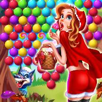 دانلود Little Red Rescue Bubble v1.0 بازی حباب ها ونجات شنل قرمزی اندروید