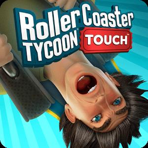 دانلودRollerCoaster Tycoon Touch v1.8.49 + Mod بازی شبیه سازی شهربازی اندروید