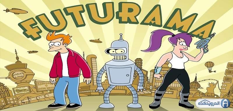 دانلود Futurama: Game of Drones بازی فوتوراما اندروید