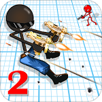 دانلود Sniper Shooter Stickman 2 Fury v3.2 بازی خشم آدمک تک تیر انداز اندروید