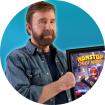 دانلود Nonstop Chuck Norris 1.4.0 – بازی چاک نوریس بی وقفه اندروید + مود