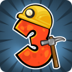 دانلود Pocket Mine 3 v1.9.2 بازی معدنچی گنج ۳ اندروید + مود
