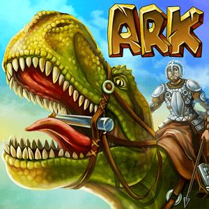 دانلود The Ark of Craft: Dinosaurs Survival Island Series 3.3 بازی بقا در جزیره ی دایناسورها اندروید
