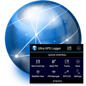 دانلود Ultra GPS Logger 3.141h نرم افزار ردیاب GPS اندروید