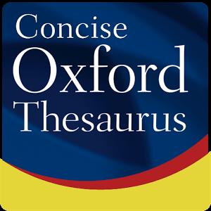 دانلود Concise Oxford Thesaurus 9.0.269 برنامه دیکشنری اصطلاحات آکسفورد برای اندروید