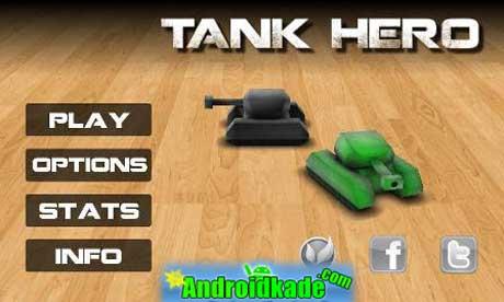 آخرین نسخه بازی سرگرم کننده تانک قهرمان TankHero v1.5.1