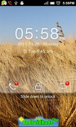 تغییر قفل گوشی با GO Locker v1.19
