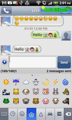 Handcent SMS 9.4.5 دومین نرم افزار محبوب ارسال Sms