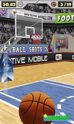 Basketball Shots 3D 1.9.1 پرتاب توپ بسکتبال سه بعدی