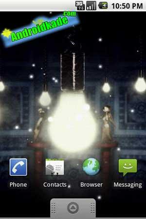 Live Wallpaper جالب و زیبای Fireflies Wallpaper
