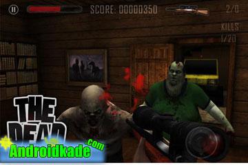 the dead v1.21  بازی کشتن زامبی ها