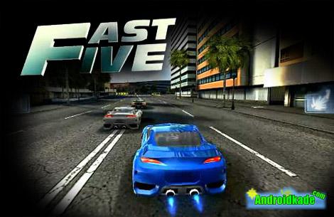 مسابقات اتومبیل رانی زیبا و گرافیکی DATA + Fast Five HD (همه دیتا ها قرار گرفتند)