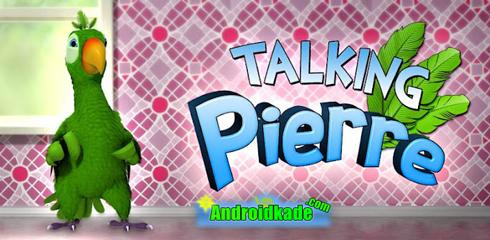 طوطی سخنگو با مزه Pierre لحظات شادی رو سپری کنید : Talking Pierre the Parrot v1.0
