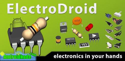 نسخه جدید نرم افزار کاربردی ElectroDroid v3.0