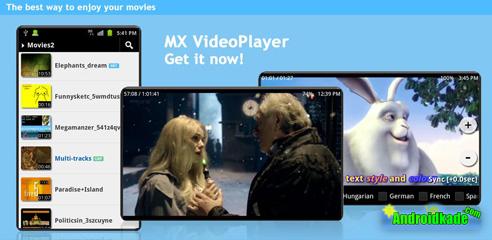 دانلود نرم افزار پخش فیلم با زیرنویس فارسی با نسخه جدید MX Player 1.8.10