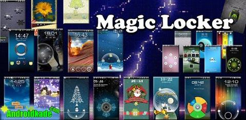 لاک اسکرین گرافیکی MagicLocker Main 1.6.1