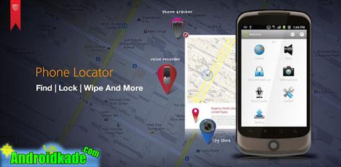 تعیین محل تلفن گم شده با Phone Locator PRO – MobiUcare v55