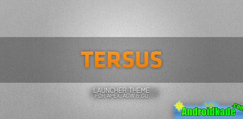 تم زیبای Tersus (adw go apex theme) v1.1.8