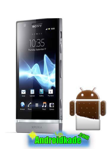 رام رسمی اندروید ۴٫۰٫۴ برای گوشی Sony Xperia P