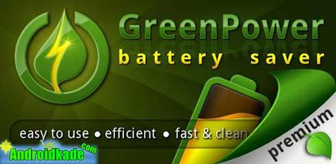 کاهش مصرف باطری با GreenPower Premium 9.4.2