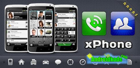 مدیریت اسان مخاطب با xPhonePro – Phone and Contacts v2.5