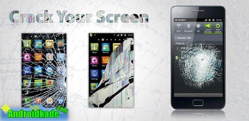 با Crack Your Screen v2.00 صفحه گوشیتان را بشکنید