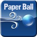 دانلود بازی توپ کاغذی Paper Ball Full v1.4.7