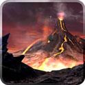 دانلود تصویر زمینه متحرک آتشفشان Volcano 3D Live Wallpaper v1.0