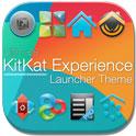 دانلود تم اندروید ۴٫۴ کیت کت KitKat 4.4 Launcher Theme v3.11