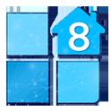 دانلود لانچر ویندوز ۸ نسخه حرفه ای LAUNCHER 8 PRO v2.5.4 اندروید