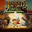 دانلود بازی قهرمان و زامبی Legend vs. zombies v2.4 اندروید