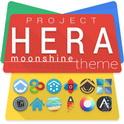 دانلود تم فوق العاده زیبای Project Hera Launcher Theme v1.10