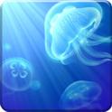 دانلود تصویر زمینه متحرک پری دریایی Live Jellyfish v1.0 اندروید
